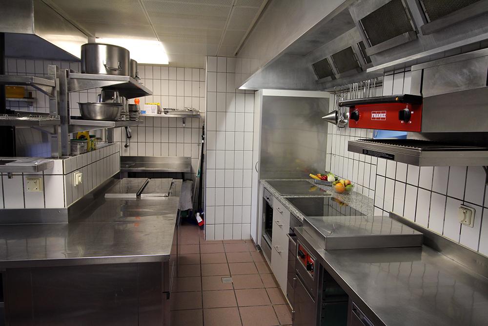 Einblick in die Küche unseres Pflegeheims im Zentrum von Uster