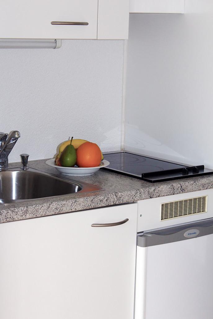 """Kochnische der Zimmervariante """"Studio"""""""