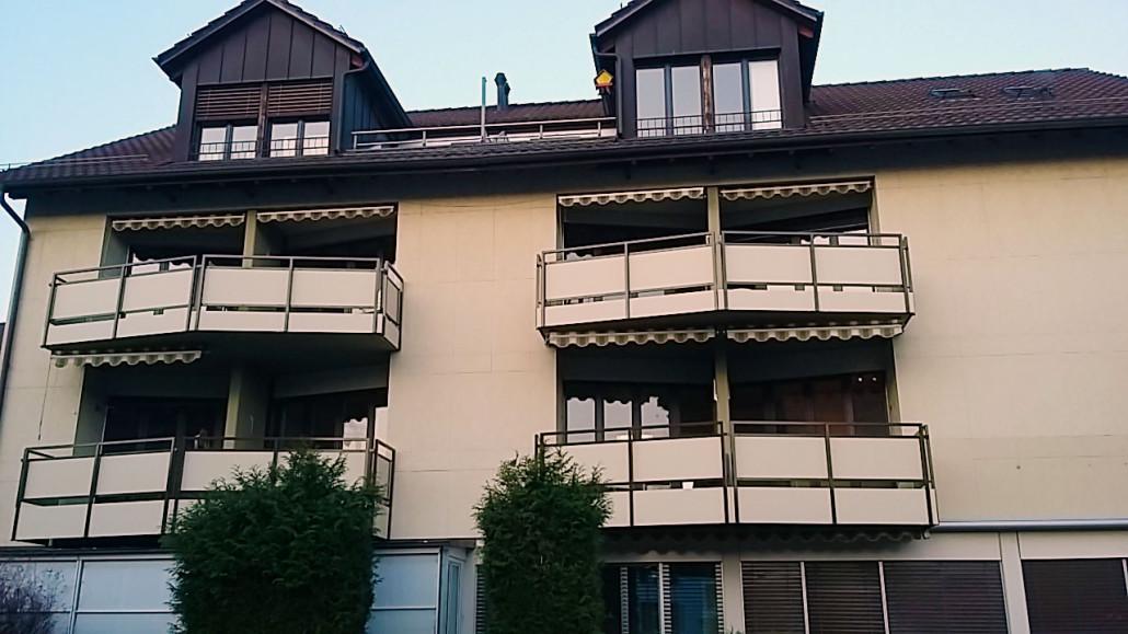 Aussenansicht des Pflegeheim von Prix Santé im Zentrum von Uster , Nähe Greifensee im schönen Kanton Zürich.